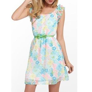 Lilly Pulitzer Floral Sleeveless Dress
